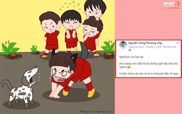 Xem lại Facebook Công Phượng, fan cảm động vì lý do anh chàng gắt gỏng bảo vệ Quang Hải ở trận Việt Nam và Yemen - Ảnh 1.