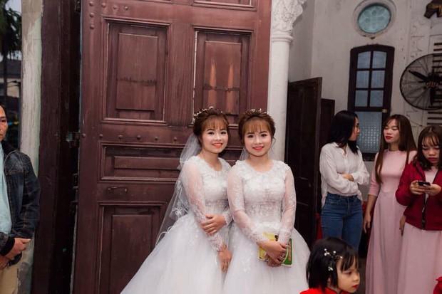 Cặp chị em sinh đôi làm cùng công ty, lấy chồng cùng một ngày nhận nhiều chú ý trên MXH - Ảnh 3.