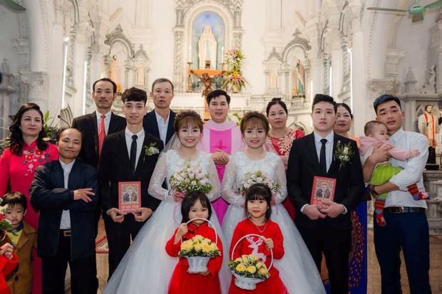 Cặp chị em sinh đôi làm cùng công ty, lấy chồng cùng một ngày nhận nhiều chú ý trên MXH - Ảnh 4.