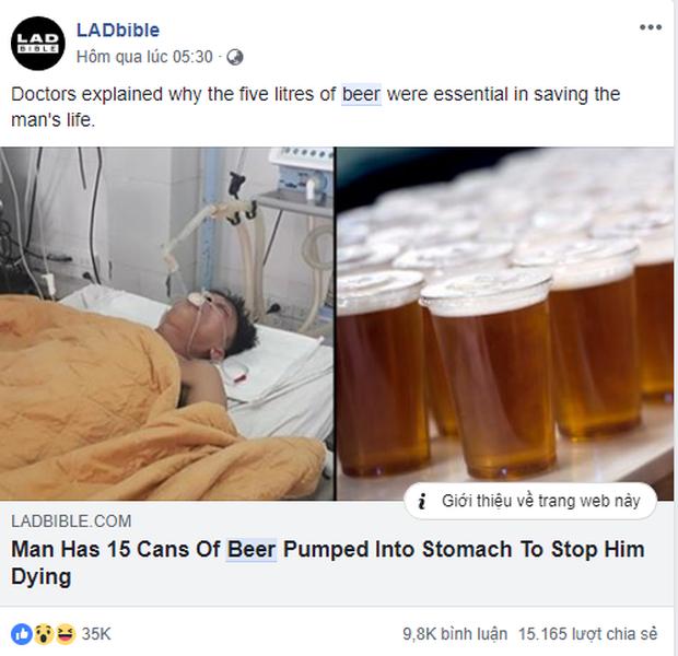 Báo chí quốc tế rầm rộ đưa tin về người đàn ông Việt Nam được truyền 15 lon bia vào cơ thể để giải độc rượu - Ảnh 3.
