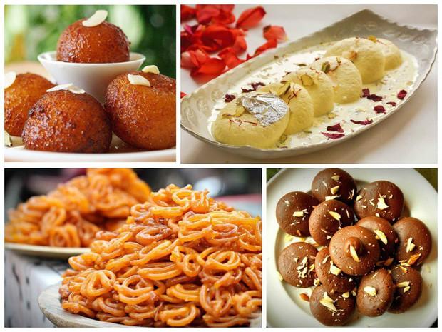 Không chỉ nổi tiếng bằng cà ri, ẩm thực Ấn Độ còn có những món tráng miệng cực kỳ hấp dẫn - Ảnh 1.