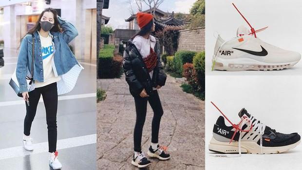 Vẫn biết Âu Dương Na Na giàu nhưng không ngờ cô còn sở hữu tủ sneakers đáng ngưỡng mộ - Ảnh 10.