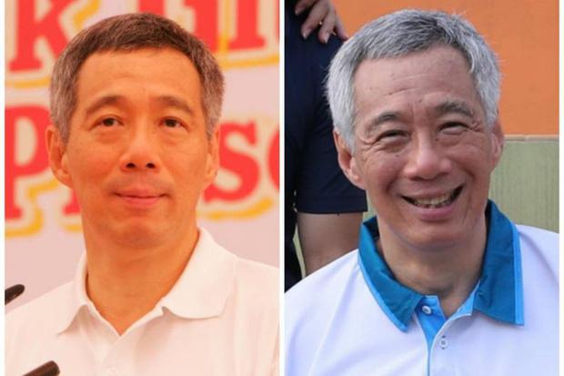 Thủ tướng Singapore Lý Hiển Long cũng tham gia Thử thách 10 năm với dòng caption đầy hài hước - Ảnh 1.