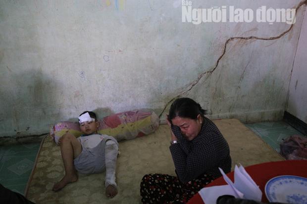Cha mẹ chết dưới bánh xe container, con cái ra rừng, ra rẫy ngủ - Ảnh 6.