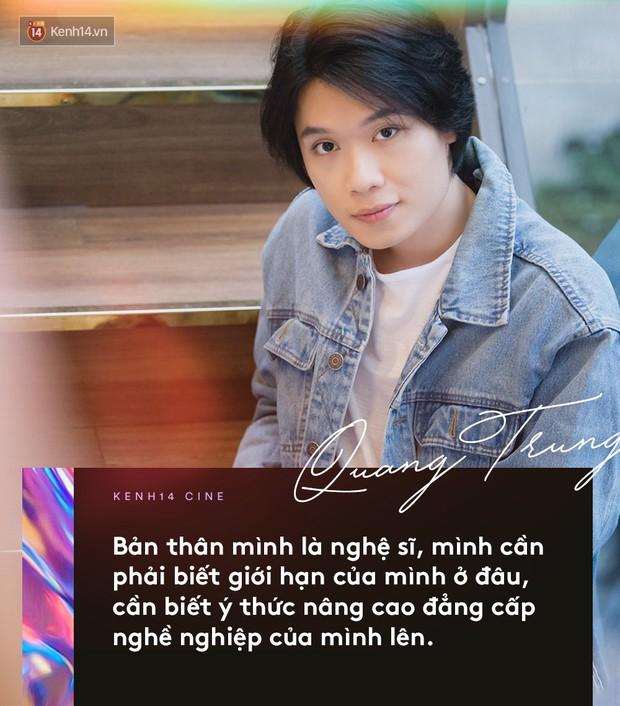 Quang Trung - Chàng trai nương theo nghệ thuật đầy cảm tính - Ảnh 13.