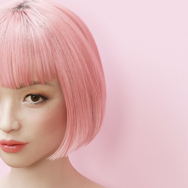 Xinh đẹp và quyến rũ, cô gái tóc hồng mới nổi trên Instagram Nhật hóa ra là người mẫu ảo! - Ảnh 5.