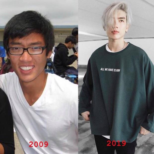 Hoá ra 10 năm trước, hotboy Brian Trần từng là chàng trai mắt cận da đen nhem nhẻm - Ảnh 4.
