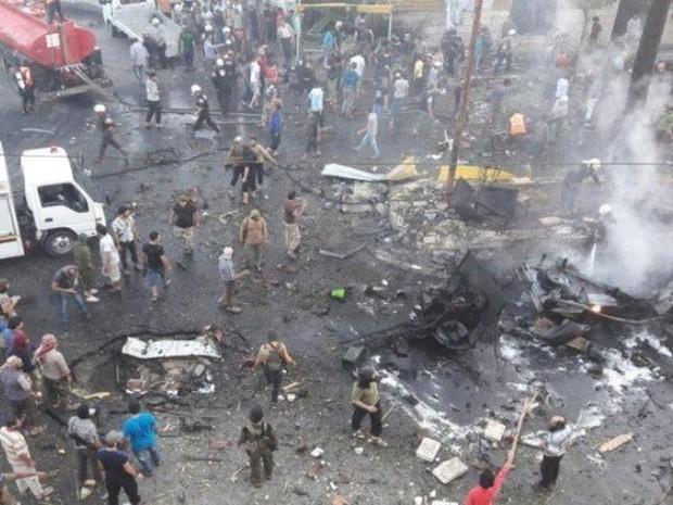 Idlib rung chuyển bởi vụ nổ bom lần thứ hai trong 24 giờ qua, 15 người thiệt mạng - Ảnh 1.