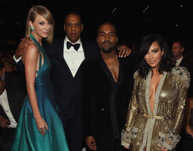 Nhà Kim - Kanye đang nỗ lực hóa thù thành bạn khi liên tiếp lấy lòng Taylor Swift như thế này - Ảnh 2.