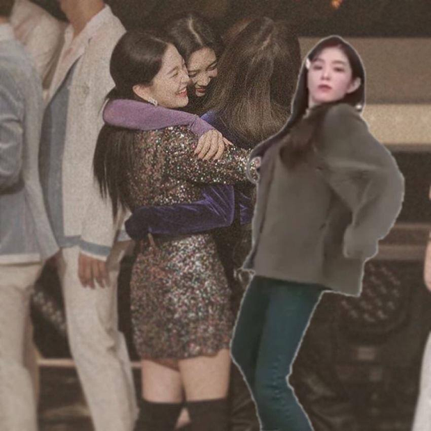 Red Velvet ôm nhau chụp ảnh thắm thiết mà thiếu chị cả Irene, đừng lo đã có fan ghép hộ đây rồi - Ảnh 3.