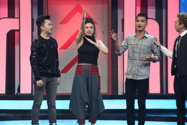 Cao Thái Hà bị nhan sắc của Song Luân và Quang Đại làm lu mờ tại gameshow - Ảnh 4.