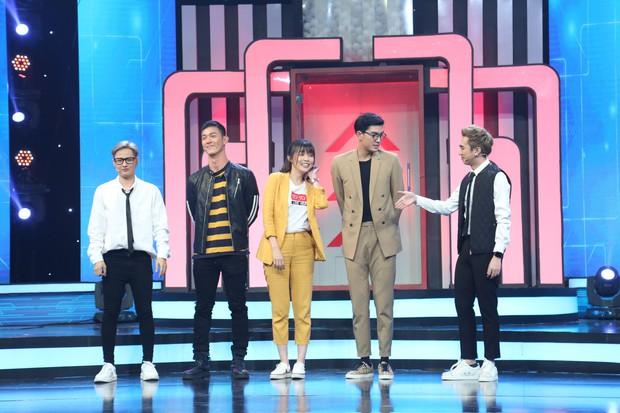 Cao Thái Hà bị nhan sắc của Song Luân và Quang Đại làm lu mờ tại gameshow - Ảnh 3.