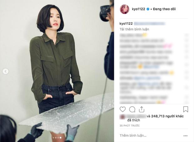Bị chê photoshop quá đà, minh tinh Song Hye Kyo tung loạt ảnh hậu trường chứng minh body siêu nuột hậu giảm cân - Ảnh 3.