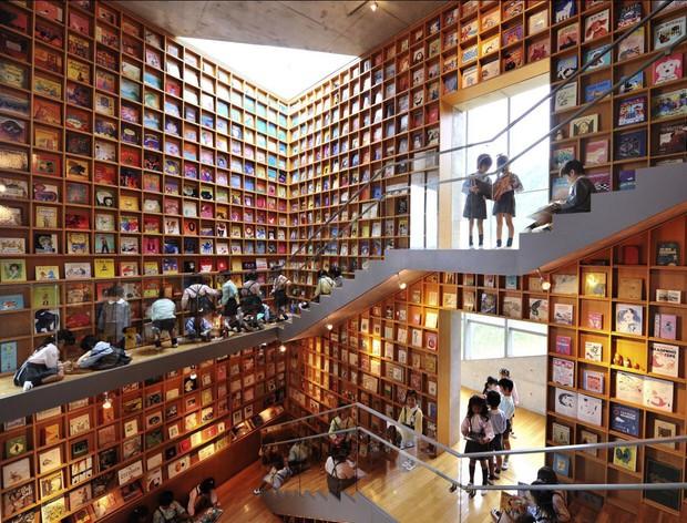 Tin được không, toà thư viện độc đáo lọt top 25 xịn nhất thế giới này thực chất là thư viện cho trường mầm non - Ảnh 1.