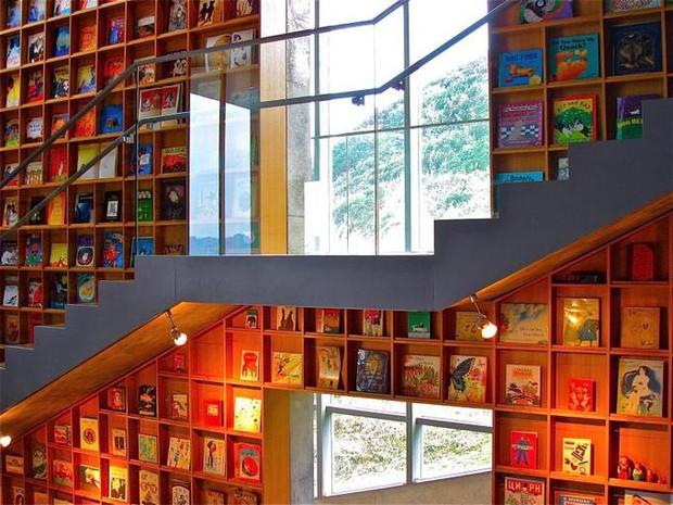 Tin được không, toà thư viện độc đáo lọt top 25 xịn nhất thế giới này thực chất là thư viện cho trường mầm non - Ảnh 4.