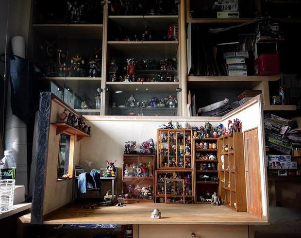 Chiêm ngưỡng anh chàng mô hình trong căn nhà mô hình có hẳn một bộ sưu tập mô hình - Ảnh 9.