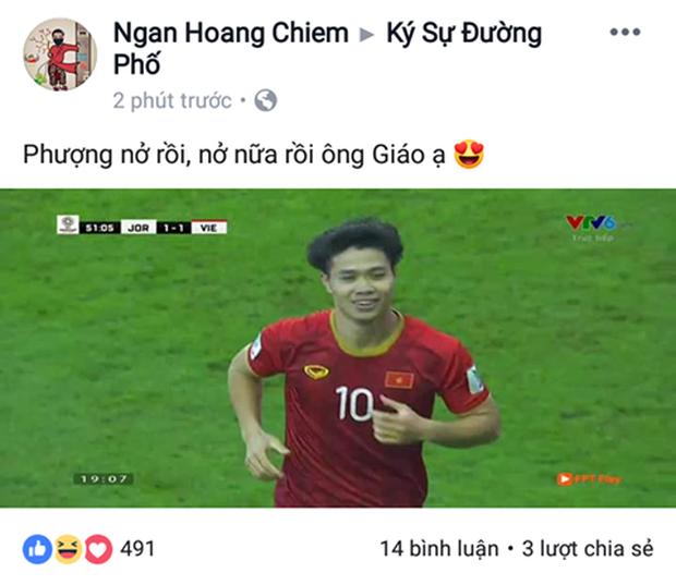 Cư dân mạng vỡ òa khi Công Phượng ghi bàn xuất sắc quân bình tỉ số 1-1 cho Việt Nam - Ảnh 4.