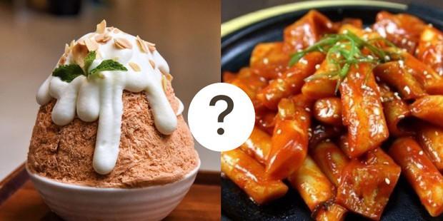 Cả Hàn Quốc bỗng thu bé lại bằng một món ăn: Bingsu sốt bánh gạo, bạn thử chưa? - Ảnh 1.