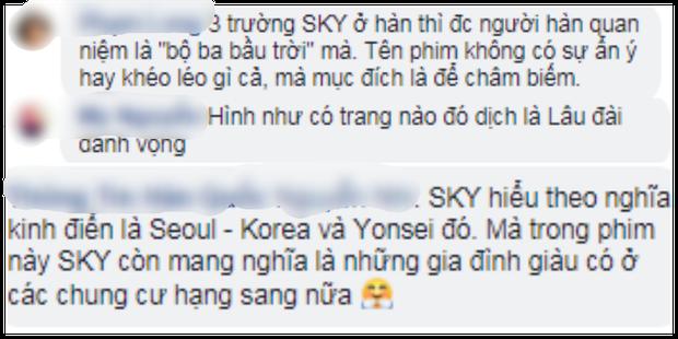 SKY Castle chiếu gần hết, fan Việt vẫn tranh cãi về ý nghĩa của cái tên Lâu Đài Trên Không - Ảnh 2.