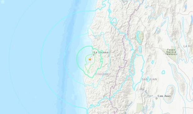 Động đất mạnh 6,7 độ làm rung chuyển thành phố cảng Coquimbo, Chile  - Ảnh 1.