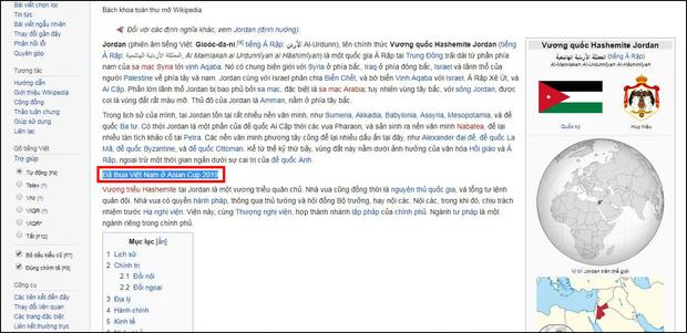 Quá vui vì đội nhà thắng Jordan, fan Việt dám troll cả đội bạn nhờ chỉnh sửa website Wikipedia - Ảnh 1.