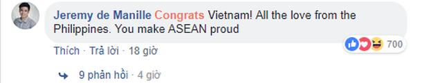 Dân mạng các nước từng chịu thua trước tuyển Việt Nam gửi lời chúc mừng chiến thắng lịch sử - Ảnh 3.