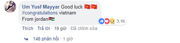 Dân mạng các nước từng chịu thua trước tuyển Việt Nam gửi lời chúc mừng chiến thắng lịch sử - Ảnh 5.