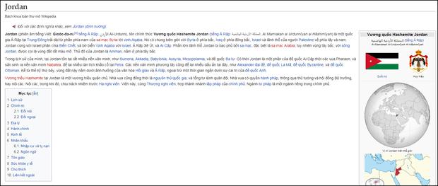 Quá vui vì đội nhà thắng Jordan, fan Việt dám troll cả đội bạn nhờ chỉnh sửa website Wikipedia - Ảnh 3.