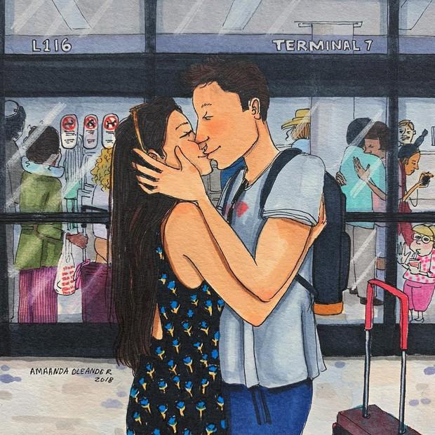 Bộ tranh: Có những lãng mạn đầy đơn giản mà chỉ những cặp đôi yêu nhau mới hiểu - Ảnh 11.
