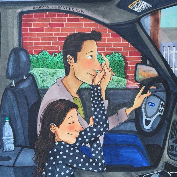 Bộ tranh: Có những lãng mạn đầy đơn giản mà chỉ những cặp đôi yêu nhau mới hiểu - Ảnh 13.