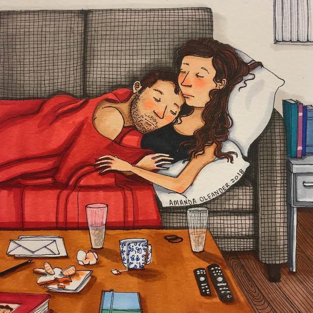 Bộ tranh: Có những lãng mạn đầy đơn giản mà chỉ những cặp đôi yêu nhau mới hiểu - Ảnh 15.