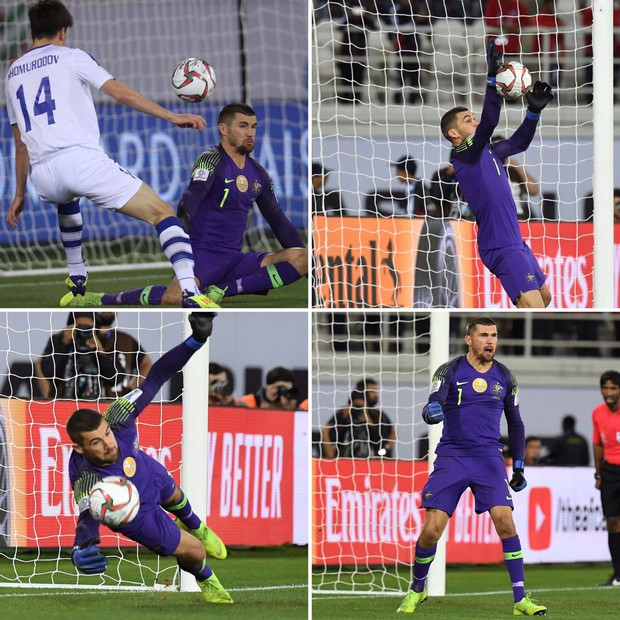 Chơi đúng bài múa quạt của Văn Lâm, thủ môn Australia mang về tấm vé đi tiếp cho đội nhà theo kịch bản tương tự tuyển Việt Nam - Ảnh 4.