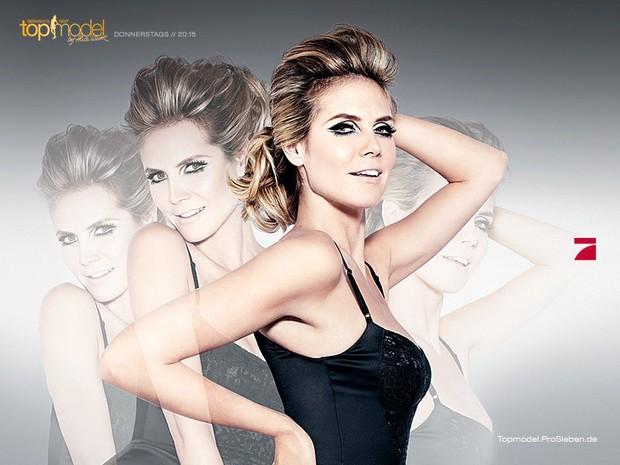 Cô gái bí ẩn trên logo của Germanys Next Top Model là ai? - Ảnh 1.
