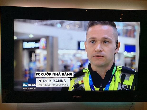 Đời thật buồn khi làm cảnh sát nhưng được đặt tên là Cướp Nhà băng - Ảnh 1.