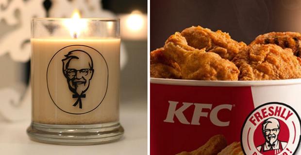 Ứa nước miếng với nến thơm mùi sốt thịt của KFC - Ảnh 3.
