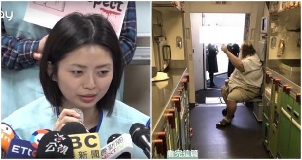 Câu chuyện nữ tiếp viên hàng không Đài Loan phải chùi mông cho hành khách gây sốc trên MXH - Ảnh 1.