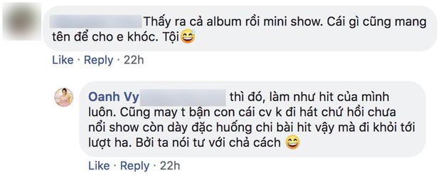 Vy Oanh bức xúc về việc nghệ sĩ tiền bối cover hit của đàn em, dân mạng nghi đá xéo Minh Tuyết - Ảnh 3.