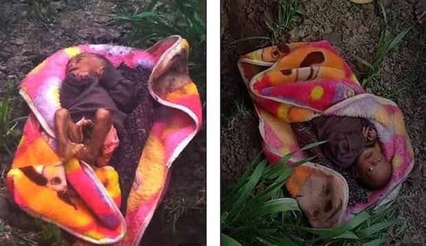 Bé 3 tuần tuổi bị chôn sống trong cái lạnh 3 độ C sống sót kỳ diệu  - Ảnh 1.