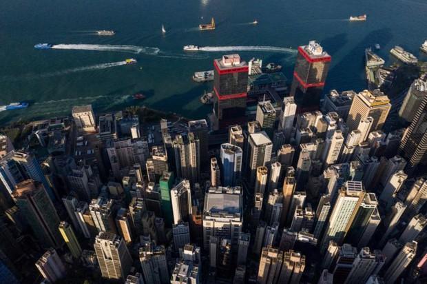 Góc nhìn độc đáo về Hong Kong qua những bức ảnh chụp từ trên cao - Ảnh 14.