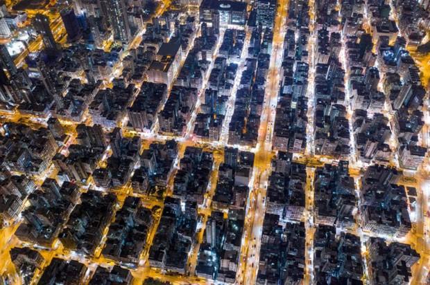 Góc nhìn độc đáo về Hong Kong qua những bức ảnh chụp từ trên cao - Ảnh 8.