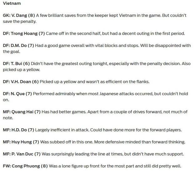 Báo châu Á chấm điểm Việt Nam: Văn Lâm chơi cực hay nhưng không thể không nhắc đến ngôi sao này - Ảnh 2.