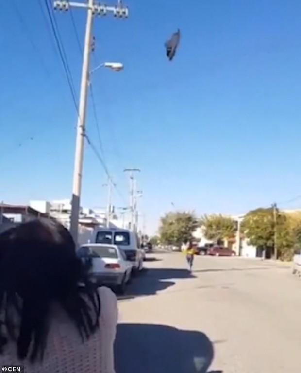 Góc thiện xạ: Thiếu nữ chạy xa 30 mét vẫn bị mẹ ném dép trúng đầu - Ảnh 3.