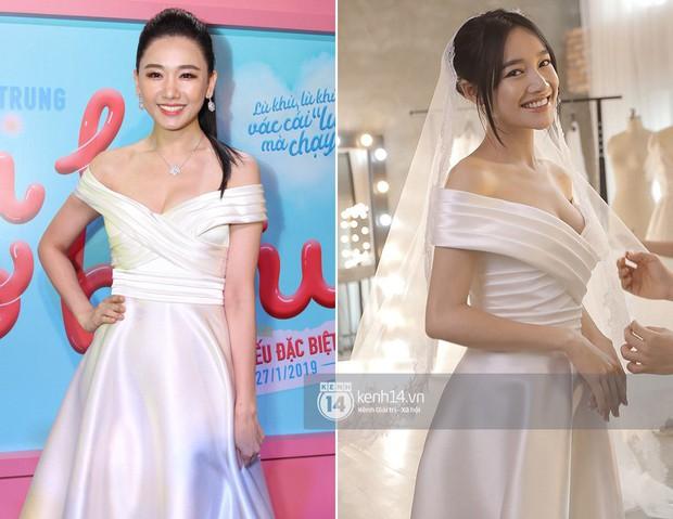 Trong khi Hari Won mặc lại váy cưới của Nhã Phương thì Trấn Thành lại chơi lớn với set đồ gần 1,5 tỷ đồng ở sự kiện - Ảnh 4.