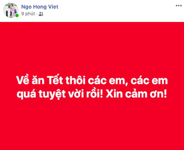 Fan hâm mộ xúc động trước nỗ lực của đội tuyển Việt Nam: Chiến đấu đủ rồi, về nhà ăn Tết thôi các chàng trai! - Ảnh 2.