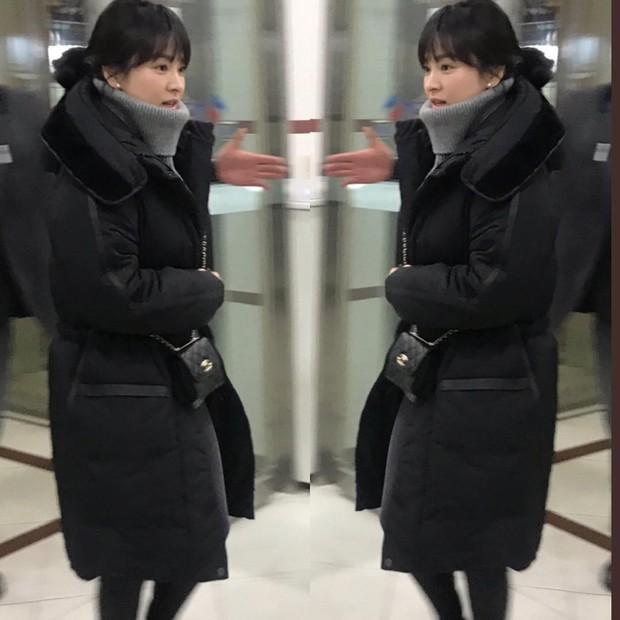 Tiệc mừng công Encounter: Song Hye Kyo để mặt mộc, tài tử Hàn trẻ khó tin mặc dù hơn Park Bo Gum 12 tuổi - Ảnh 1.