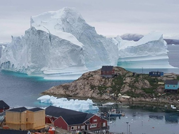 Băng tại Greenland tan nhanh hơn dự báo - Ảnh 1.