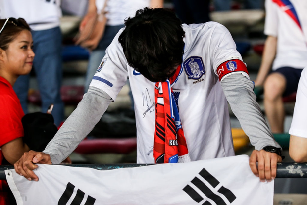 Tuyển thủ Hàn Quốc buồn bã, CĐV suy sụp sau thất bại ở tứ kết Asian Cup 2019 - Ảnh 7.