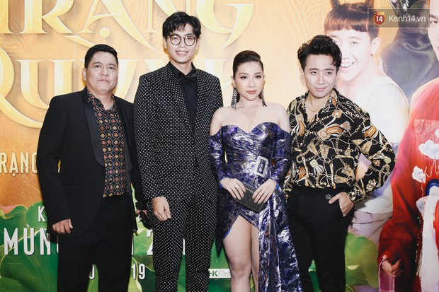 Nữ chính Nhã Phương vắng mặt tại buổi ra mắt phim Trạng Quỳnh sau tin đồn sinh con đầu lòng - Ảnh 4.