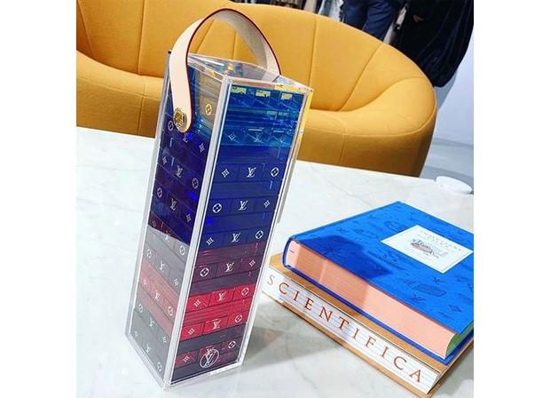 Chiêm ngưỡng bộ rút gỗ 57 triệu đồng của Louis Vuitton, bằng mica nhưng đắt gấp 190 lần bình thường - Ảnh 4.
