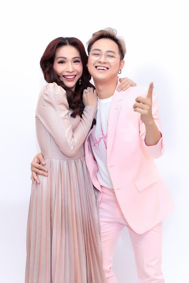Hòa Minzy - Huỳnh Lập trở thành cặp đôi HLV của Tuyệt đỉnh song ca nhí - Ảnh 3.